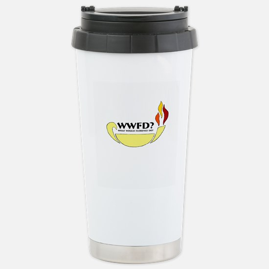 What Would Florence Do? Stainless Steel Travel Mug