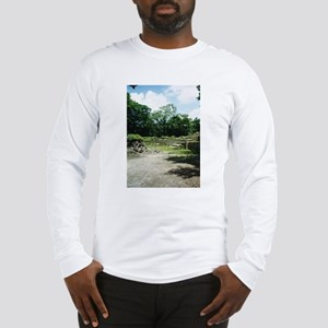 Empty Courtyard Long Sleeve T-Shirt