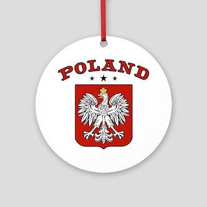 Poland Ornament (Round)