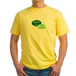 Fully Attached Pop Yellow T-Shirt
