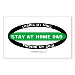 Stay at Home Dad Rectangle Sticker