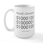 Geek Dad Large Mug