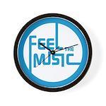 Feel the Music! Wall Clock