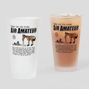 Air Amateur Drinking Glass