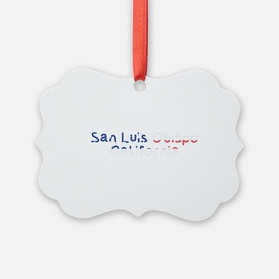 San Luis Obispo California Ornament
