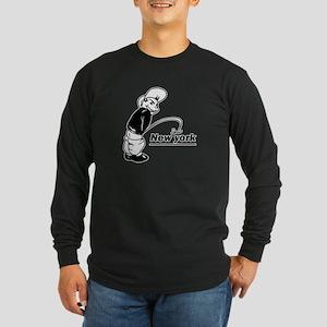 Piss on newyork Long Sleeve Dark T-Shirt