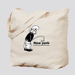 Piss on newyork Tote Bag