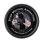 Stop Motion Animation Large Wall Clock