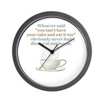 """Spice of Life"" Wall Clock"