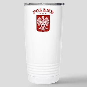 Poland Stainless Steel Travel Mug