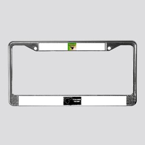 HUNTING GAME License Plate Frame