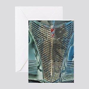 Blue Grill Greeting Card