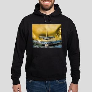 Yellow Chevy Hood Hoodie (dark)