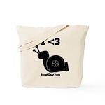 I <3 Turbo Snail - Tote Bag by BoostGear.com