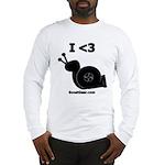 I <3 Turbo Snail - Long Sleeve T-Shirt