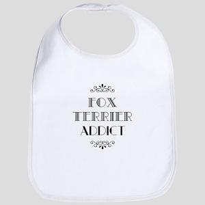 Fox Terrier Addict Bib