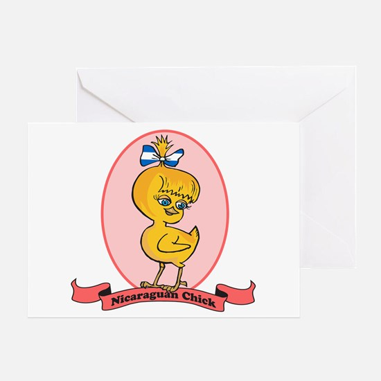 Nicaraguan Chick Greeting Card