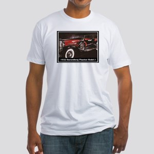 """1932 Duesenberg"" Fitted T-Shirt"