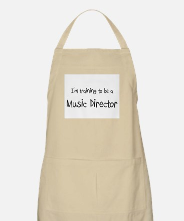 I'm training to be a Music Director BBQ Apron