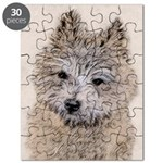 Cairn Terrier Puppy Puzzle