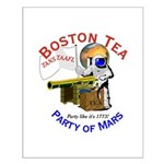 Boston Tea Party of Mars Small Poster