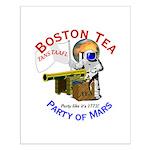 Boston Tea Party of Mars Small Poster