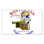 Boston Tea Party of Mars Rectangle Sticker