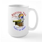 Boston Tea Party of Mars Large Mug