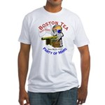 Boston Tea Party of Mars Fitted T-Shirt
