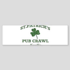 Namibia pub crawl Bumper Sticker