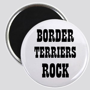 "BORDER TERRIERS ROCK 2.25"" Magnet (10 pack)"