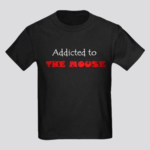 ADDICTED TO THE MOUSE WDW Disney Kids Dark T-Shirt