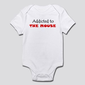 ADDICTED TO THE MOUSE WDW Disney Infant Bodysuit