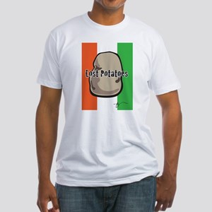 Lost Potatoes Fitted T-Shirt