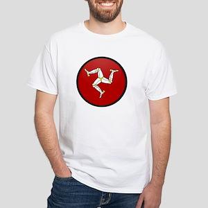 Isle of Man White T-Shirt