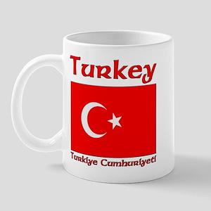 Turkey Flag Turkiye Cumhuiyet Mug