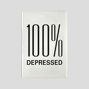 100 Percent Depressed Rectangle Magnet