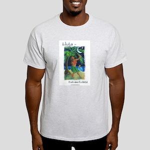 Hula Lifestyle - Under a Hawaiian Moon Light T-Shi