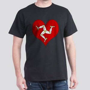 I Love Isle of Man Dark T-Shirt