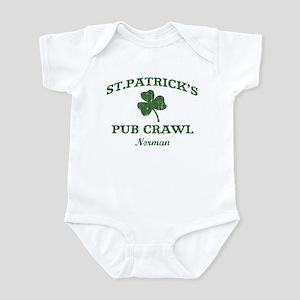 Norman pub crawl Infant Bodysuit