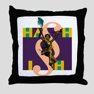Hash Warrior Throw Pillow