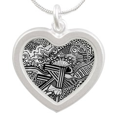 Silver Heart Necklace Necklaces