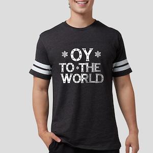 OY to the world Women's Dark T-Shirt