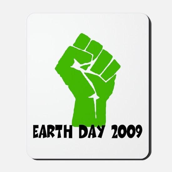 Earth Day green power Mousepad