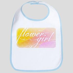 Lavish Luxe Flower Girl Bib