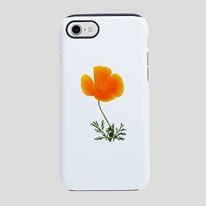 orange poppy iPhone 7 Tough Case