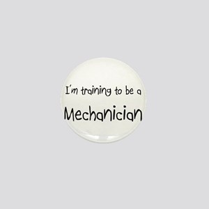 I'm training to be a Mechanician Mini Button