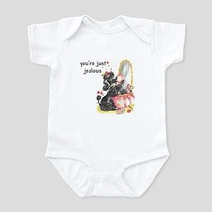 YOU'RE JUST JEALOUS Infant Bodysuit