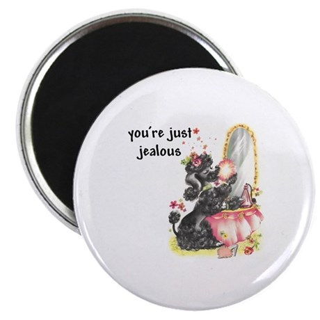 """YOU'RE JUST JEALOUS 2.25"""" Magnet (100 pack)"""