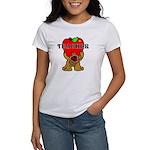 Teachers Apple Bear Women's T-Shirt